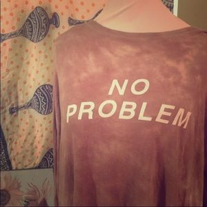 Tie-dye Long Sleeve American Eagle Outfitters 3X